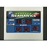 Team Sports Seattle Seahawks Scoreboard Desk Clock