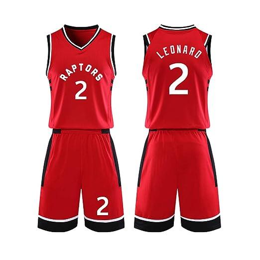 Basketball Jersey Top Including Shorts Kawhi Leonard Summer Sports Jersey YIZHEN Toronto Raptors 2 Basketball Uniform