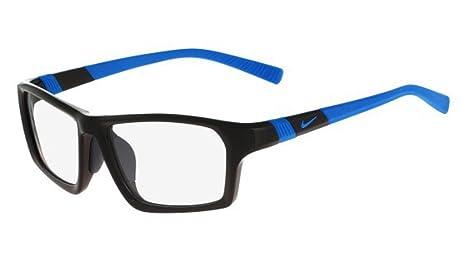 419eb89ade Amazon.com  Eyeglasses NIKE 7878 AF 008 BLACK PHOTO BLUE  Sports   Outdoors