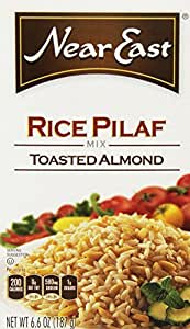Near East Rice Pilaf Mix, Toasted Almond, 6.6oz Box