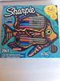 Sharpie Markers Limited Edition Set, color Assortment 36 markers,5 pens plus 3 bonus coloring pages