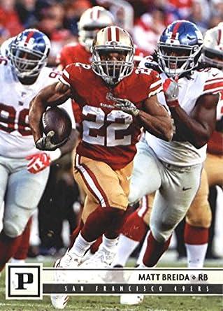 new arrivals 8f8f1 6fb2b Amazon.com: 2018 Panini NFL Football #261 Matt Breida San ...