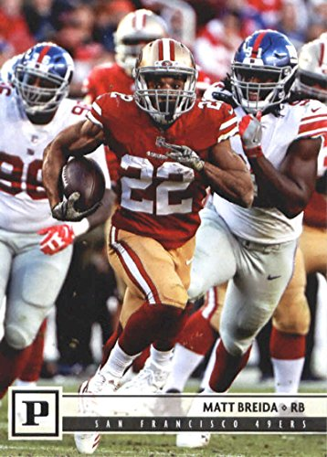 fae1fde97 Amazon.com: 2018 Panini NFL Football #261 Matt Breida San Francisco 49ers  Official Trading Card: Collectibles & Fine Art