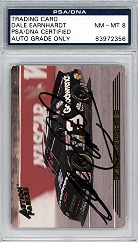 Dale Earnhardt Sr. Autographed 1993 Action Packed Card Graded 8#83972356 - PSA/DNA Certified - Autographed NASCAR Cards