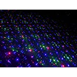 Red-Green-Blue Slow Moving Big Beam Firefly Laser Landscape Light Projector