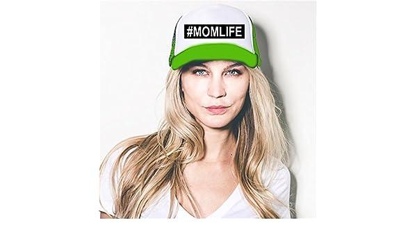 2f288fcc Amazon.com: Custom Apparel R Us The #Momlife Trucker Hat, Mom Life Hat,  Momlife Hat, Mom Life Hat Neon Green: Clothing