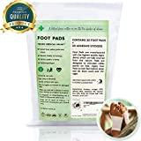 Bamboo Vinegar Foot Patch, Feet Pads, Remove and Cleansing Impurities, for Your Health Care and Wellness, 30 Pads + 30 Adhesive Sheets in a Zip Lock Bag, FDA Approved