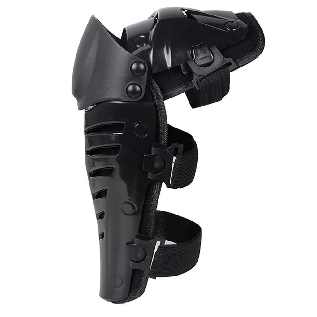 JIACUO New Motorcycle Racing Motocross Protector de protecci/ón para Rodilleras Almohadillas Negras