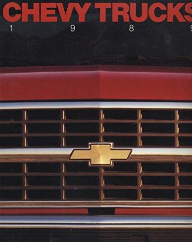 (1989 Chevrolet Truck 70-PAGE Original Sales Brochure Catalog - Suburban Silverado Blazer S-10)