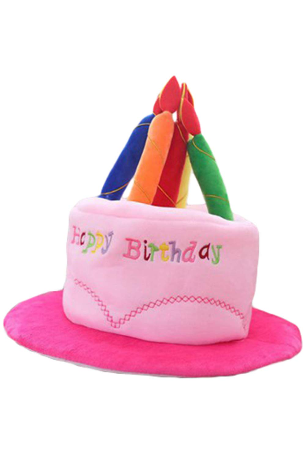 Amazon Adult Happy Birthday Cake Hat With Candles Fancy Dress Party Accessory Funny Decorations Hats Health