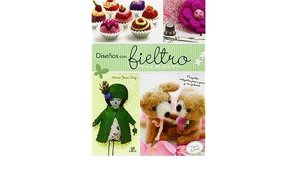 Amazon.com: Diseños con fieltro (Spanish Edition ...
