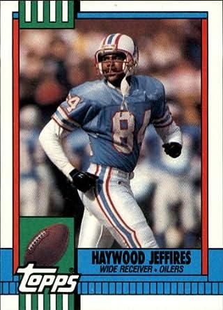 Amazoncom 1990 Topps Football Rookie Card 225 Haywood