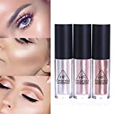 NICOLE DIARY Glow Shimmer Liquid Highlighter Moisture Shine Makeup Face Eye Contour Brightener Concealer 1Pcs #02