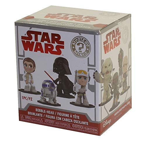 Funko Mystery Minis: Star Wars - Empire Strikes Back (One Mystery Figure), - Game Wars Star Figures Mini