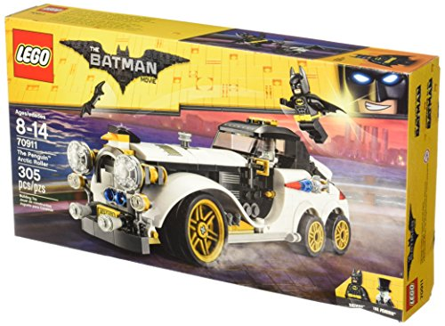 Penguin Batman (LEGO BATMAN MOVIE The Penguin Arctic Roller 70911 Building Kit)