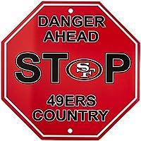 "Fremont Die NFL Arizona Cardinals Stop Sign, 12"" x 12"""