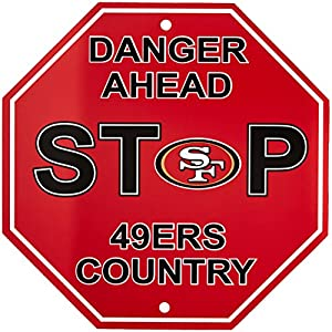 "Fremont Die NFL Arizona Cardinals Stop Sign, 12"" x 12"""
