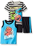 Sesame Street Boys' 3pc T-Shirt, Tank, and Short Set