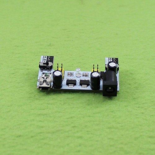 BeediY MB102 White Breadboard Dedicated Power Module 2-Way 5V//3.3V for ARDUINO