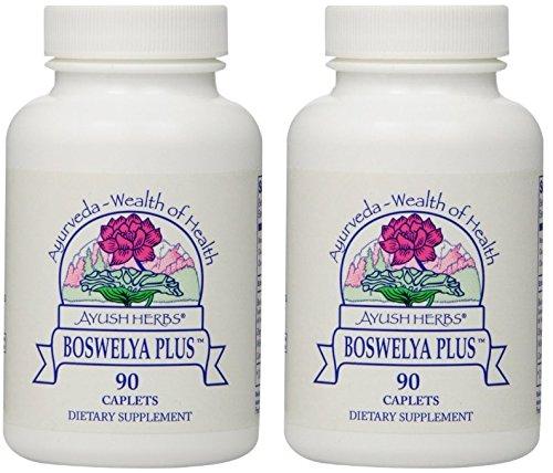 Ayush Herbs Boswelya Plus Herbal Supplement, 90 Count (2)