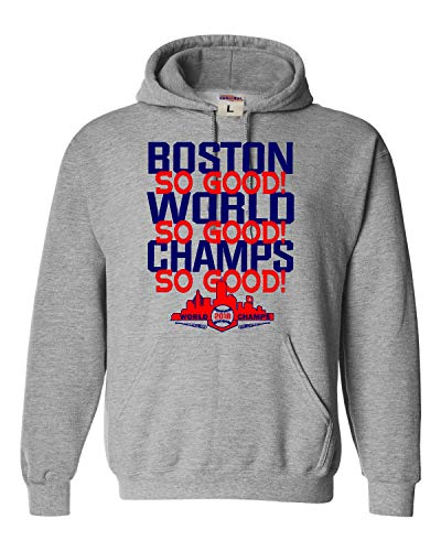 - X-Large Oxford Adult Boston So Good! 2018 World Champs Sweatshirt Hoodie