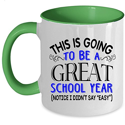 Funny Gift For Teacher Coffee Mug, This Is