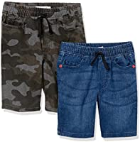 Amazon Brand - Spotted Zebra Boys Stretch Denim Shorts