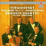 Tchaikovsky - String Quartets 1, 2, 3 and in B flat; Souvenir de Florence