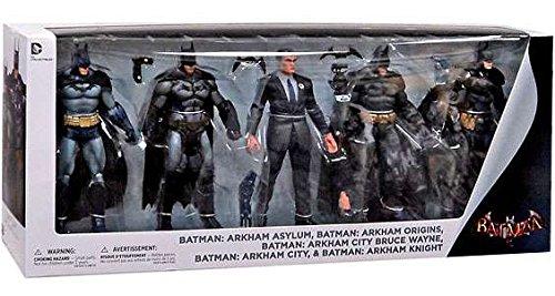 DC Collectibles Arkham Batman Action Figure (5-Pack)