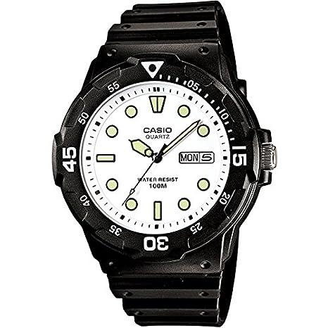 Casio MRW200H7E - Reloj de Caballero caucho Blanco