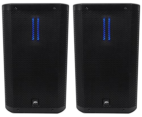 "(2) Peavey RBN 112 12"" Active PA Speakers Totaling 4000 Watt And Ribbon Driver With Digital Sound Processor"