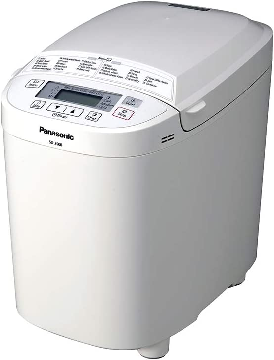 Amazon.com: Panasonic sd-2500 WXC Panificadora automática ...