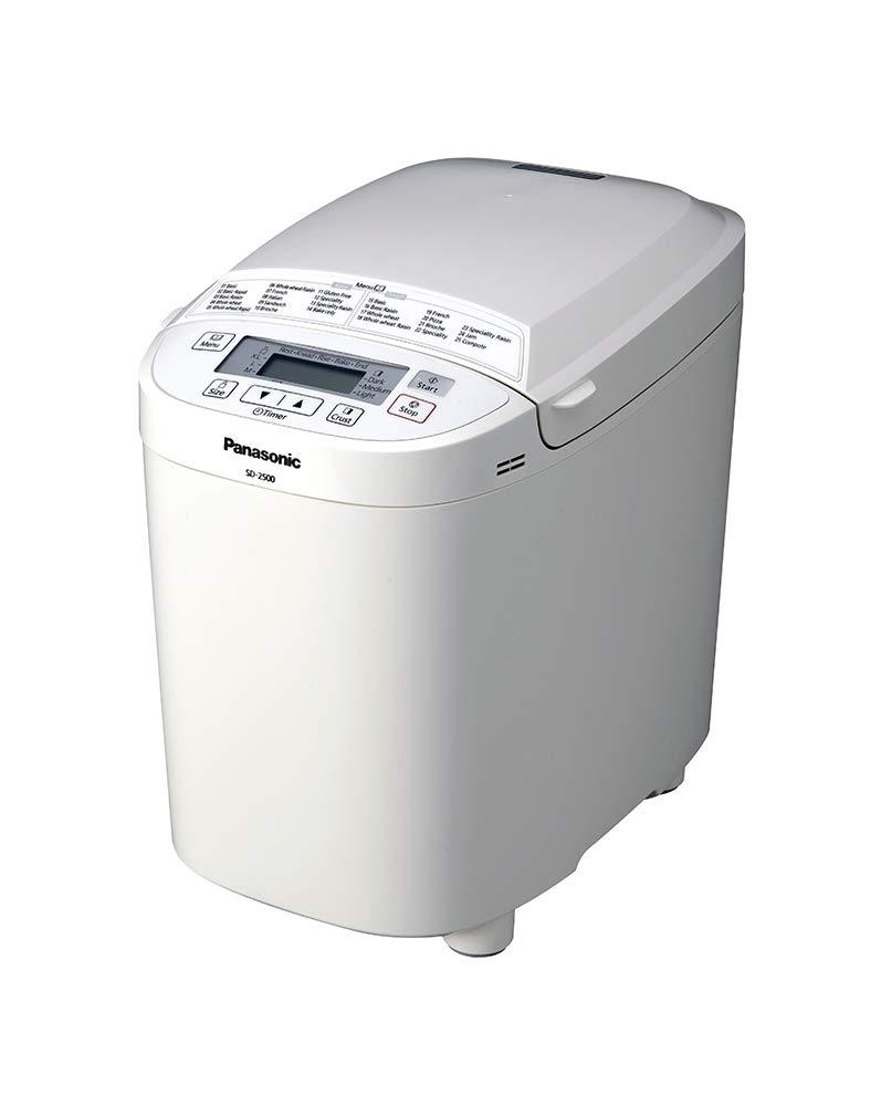 Panasonic SD-2500WXC Color blanco 550W - Panificadora (Color ...