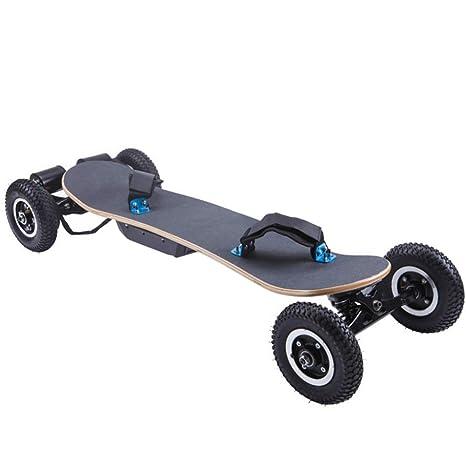 ZHH Skateboarding Scooter, eléctrico de Cuatro Ruedas Scooter Todo Terreno, Todoterreno ATV Sports Car