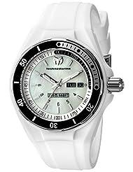 Technomarine Women's TM-115123 Cruise Sport Analog Display Swiss Quartz White Watch by TechnoMarine