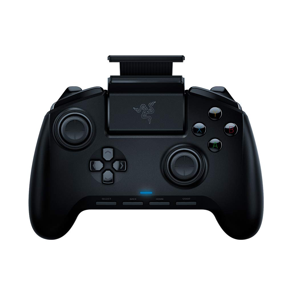 Razer Raiju Mobile: Ergonomic Multi-Function Button Layout - Hair Trigger Mode - Adjustable Phone Mount - Mobile Gaming Controller for PS4