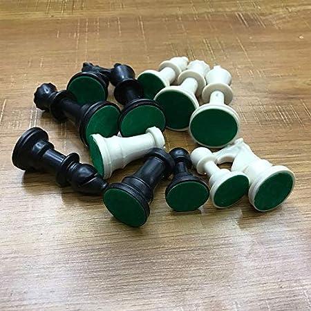 Jacobden - Juego de ajedrez (65 mm, 32 Figuras Medievales de ajedrez y plástico, Juego de Palabras en alemán): Amazon.es: Hogar
