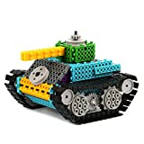 Remote Control Building Kits for Boy Gift- Remote Control Tank Construction Set w/ 145PCS, Build Your Own Remote Control Robot Kits