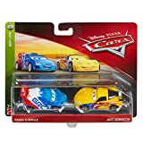 all cars from cars 2 - Disney Cars Character Car Jeff Gorvette & Raoul Toy Vehicle (2 Pack)