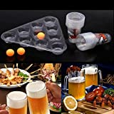 Katoot@ Party Ultimate Bombed Beer Pong Fun Kit 22 Cups 3 Balls For Adult Table Top Board Games Drinking Game Pub Bar BBQ Gift
