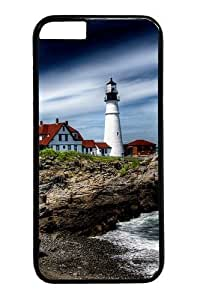 The Beach House Polycarbonate Hard Case Cover for iphone 6 plus 5.5 inch Black in GUO Shop