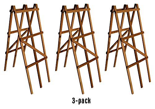 (A-Frame Cedar Wood Folding Trellis 30