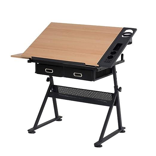 mesa plegable ZZHF Giratoria - Mesa de Dibujo de Levantamiento ...
