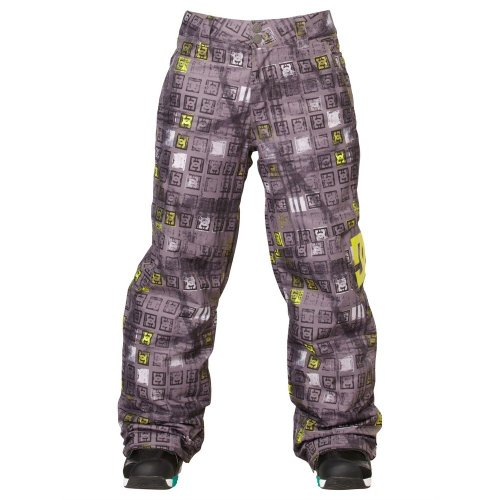 DC Shoes Boys Shoes Banshee K 14 - Snowboard Pants - Boys - XS - Black Black Monogram XS by DC