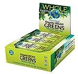 green bars - Whole Earth & Sea Organic Vegan Greens Protein Bars Natural Factors 12 bars (1 .75g) Box