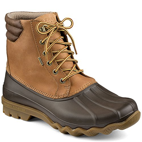 Sperry Mens Avenue Duck Boots, Tan/Brown, 10.5