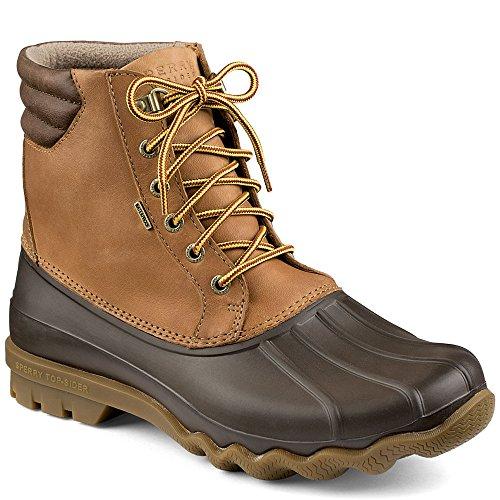 Sperry Top-Sider Men's Avenue Duck Boot, Tan/Brown, 8 M US