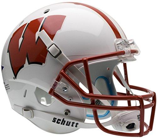 WISCONSIN BADGERS Schutt AiR XP Full-Size REPLICA Football Helmet