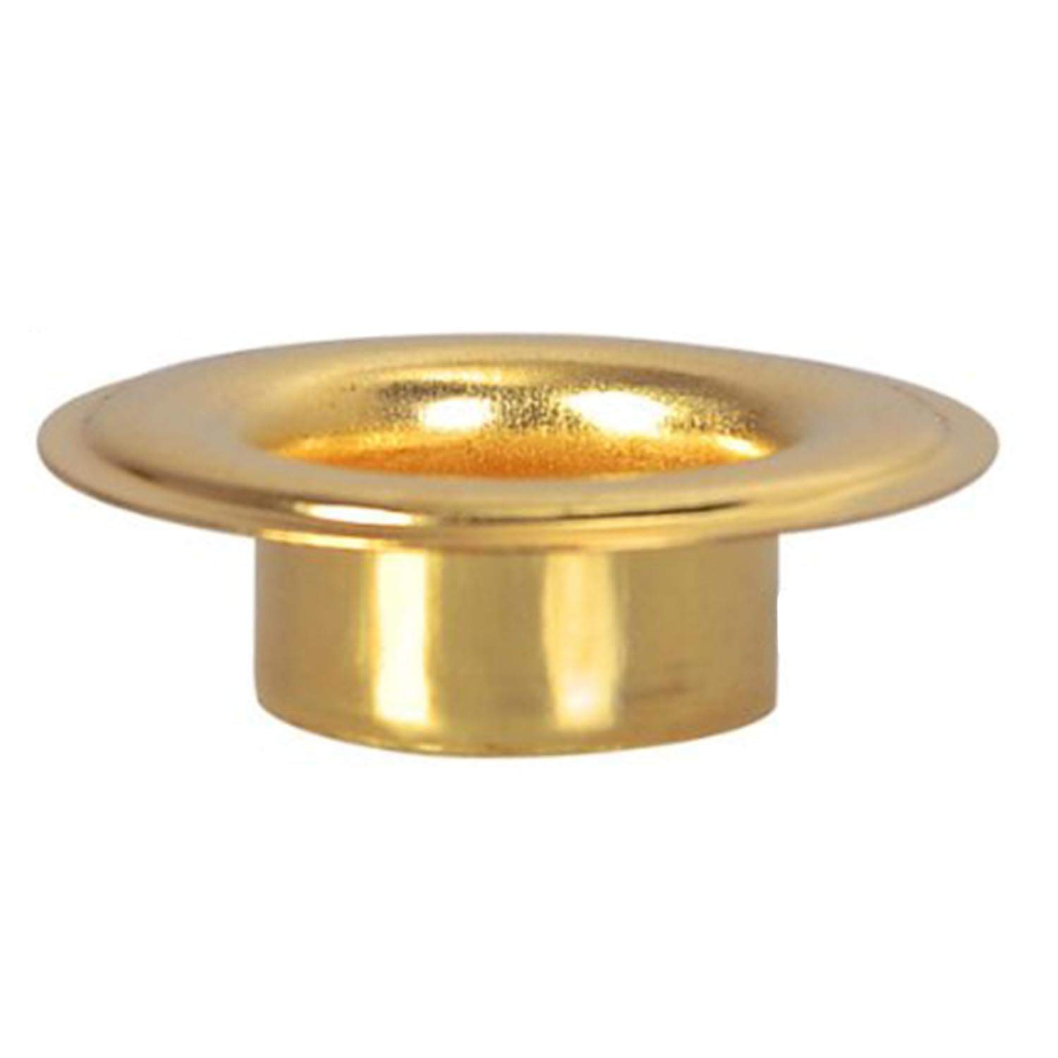 1/2'' #4 Brass Grommets and Washers 1000 Package