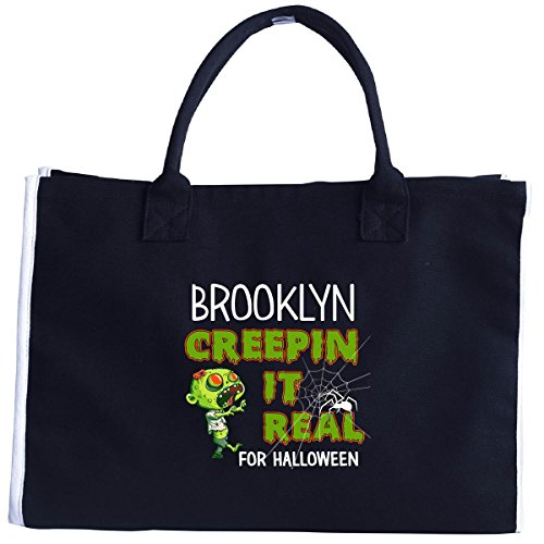 Brooklyn Creepin It Real Funny Halloween Costume Gift - Tote (Halloween Costumes Brooklyn Heights)
